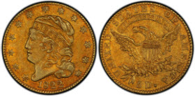 The Pogue Family Collection 1822 Half Eagle, graded PCGS Secure AU50.